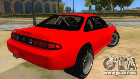 Nissan Silvia S14 Drag para la visión correcta GTA San Andreas