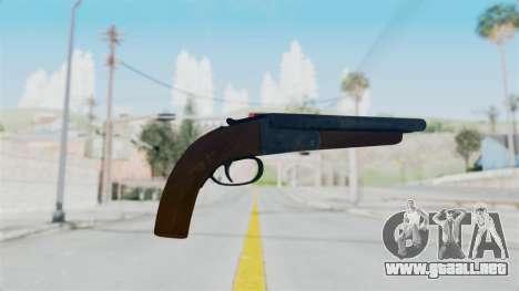 Double Barrel Shotgun from Lowriders CC para GTA San Andreas segunda pantalla
