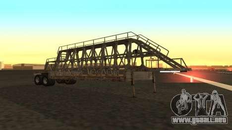El trailer de los paneles para GTA San Andreas