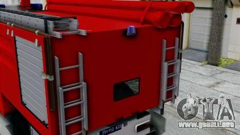 FAP Serbian Fire Truck para la visión correcta GTA San Andreas