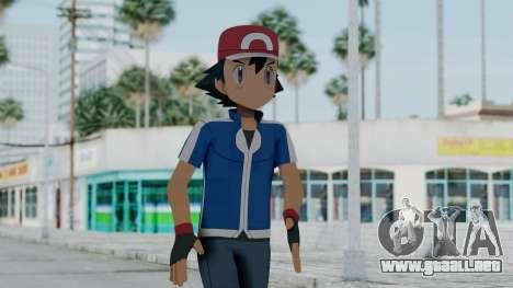 Pokémon XY Series - Ash para GTA San Andreas