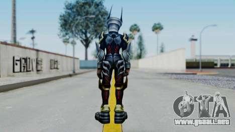 Kingdom Hearts BBS - Ventus Armored v2 para GTA San Andreas tercera pantalla