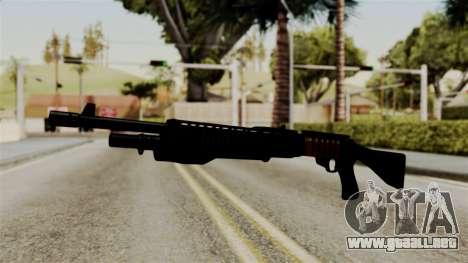 New Shotgun para GTA San Andreas segunda pantalla
