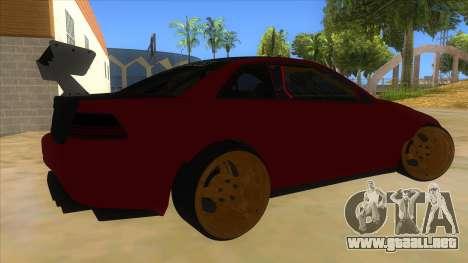 GTA V Sentinel RS MKII para la visión correcta GTA San Andreas