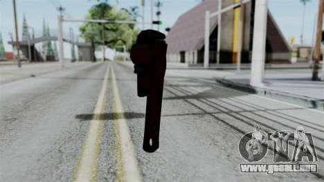 No More Room in Hell - Wrench para GTA San Andreas tercera pantalla