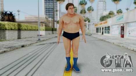 Andre Giga para GTA San Andreas segunda pantalla