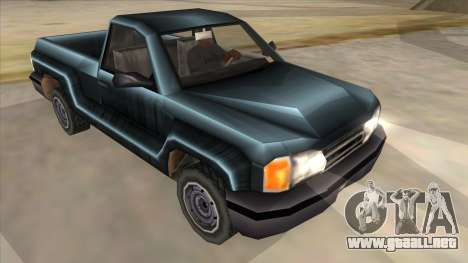 GTA III Bobcat Original Style para GTA San Andreas vista hacia atrás