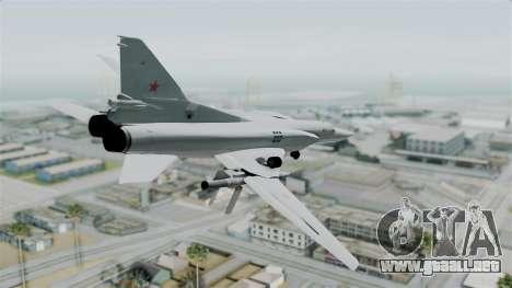 TU-22M3 Verde para GTA San Andreas left