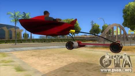 StarWars Anakin Podracer para la visión correcta GTA San Andreas
