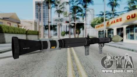 GTA 5 RPG - Misterix 4 Weapons para GTA San Andreas tercera pantalla
