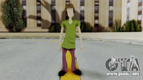 Scooby Doo Salcisha-Shaggy para GTA San Andreas segunda pantalla