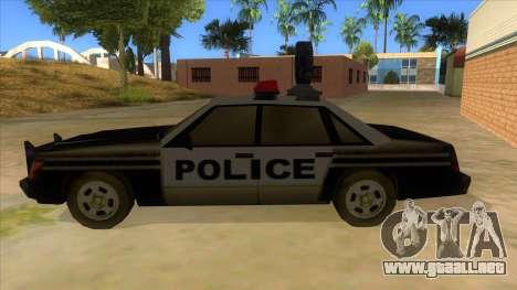 Police Car from Manhunt 2 para GTA San Andreas left