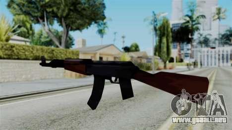 GTA 3 AK-47 para GTA San Andreas segunda pantalla