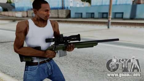 No More Room in Hell - JAE-700 para GTA San Andreas tercera pantalla
