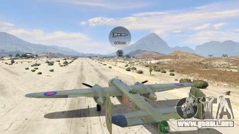 GTA 5 B-25 séptima captura de pantalla