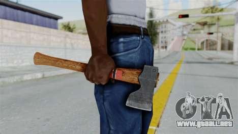 GTA 5 Hatchet - Misterix 4 Weapons para GTA San Andreas tercera pantalla
