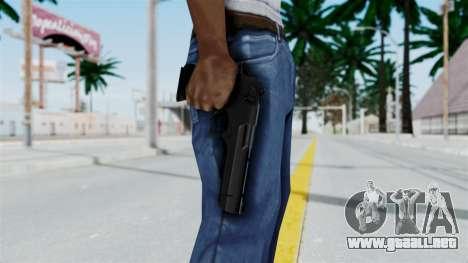 Pouxs Desert Eagle v2 Black para GTA San Andreas tercera pantalla