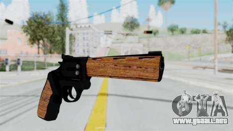 Wood Revolver para GTA San Andreas segunda pantalla