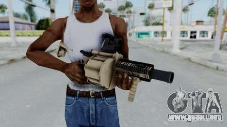 Arma OA Grenade Launcher para GTA San Andreas tercera pantalla