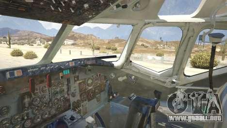 GTA 5 McDonnell Douglas DC-9-15 quinta captura de pantalla