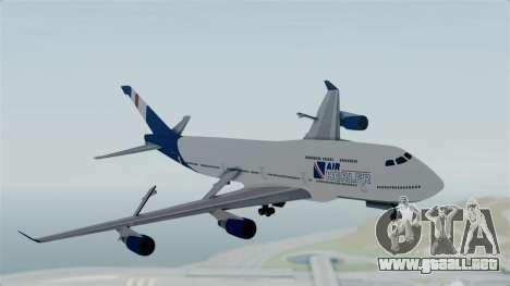 GTA 5 Jumbo Jet v1.0 Air Herler para GTA San Andreas vista posterior izquierda