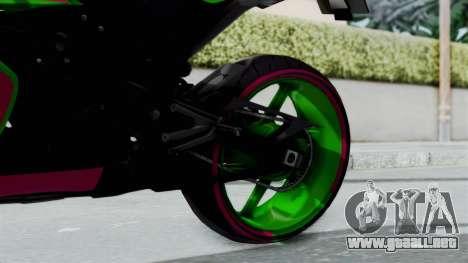 Yamaha R1 para la visión correcta GTA San Andreas