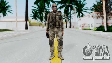 Crysis 2 US Soldier FaceB Bodygroup A para GTA San Andreas segunda pantalla