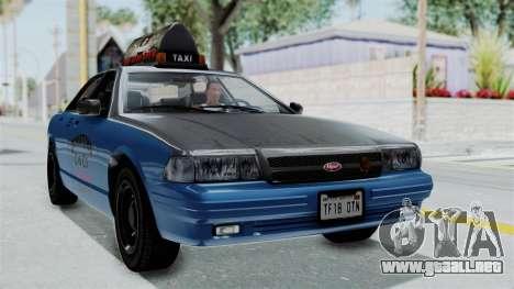 GTA 5 Vapid Stanier II Taxi IVF para GTA San Andreas
