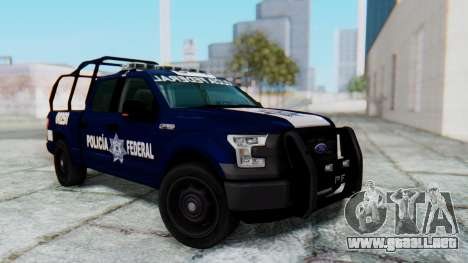 Ford F-150 2015 Policia Federal para GTA San Andreas