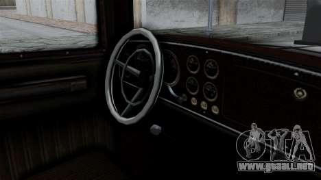 GTA 5 Albany Roosevelt Valor para la visión correcta GTA San Andreas
