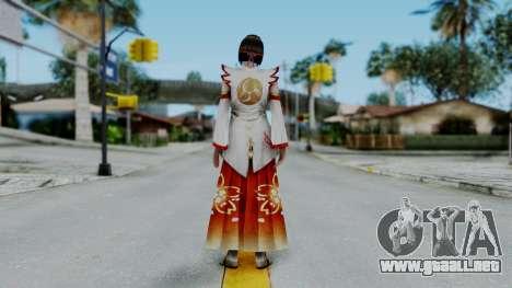 Sengoku Musou 3 - Okuni para GTA San Andreas tercera pantalla