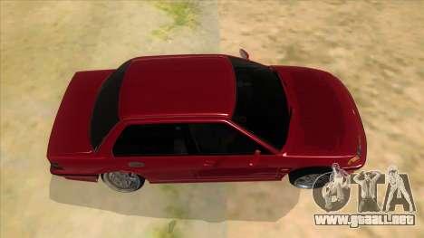 Honda Civic Ef Sedan para visión interna GTA San Andreas