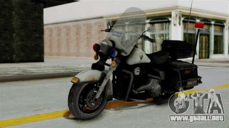 Police Bike from RE ORC para GTA San Andreas