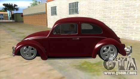 Volkswagen Beetle Aircooled V2 para GTA San Andreas left