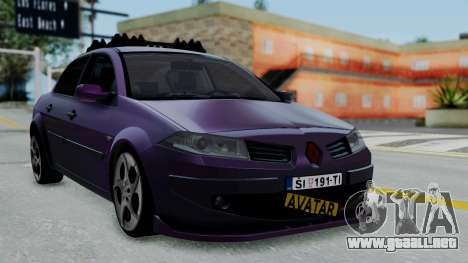 Renault Megane II para GTA San Andreas