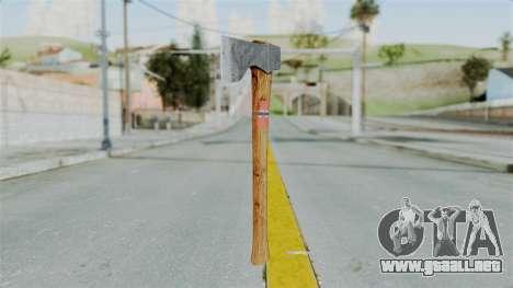 GTA 5 Hatchet - Misterix 4 Weapons para GTA San Andreas