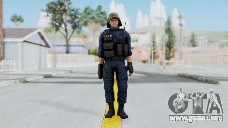 GIGN 2 No Mask from CSO2 para GTA San Andreas segunda pantalla