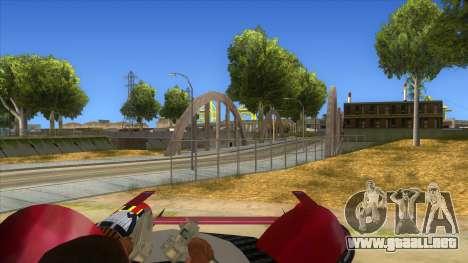 StarWars Anakin Podracer para visión interna GTA San Andreas