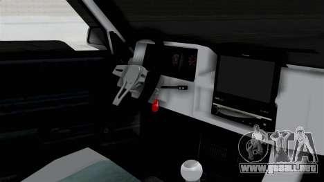 Tofas Sahin para la visión correcta GTA San Andreas