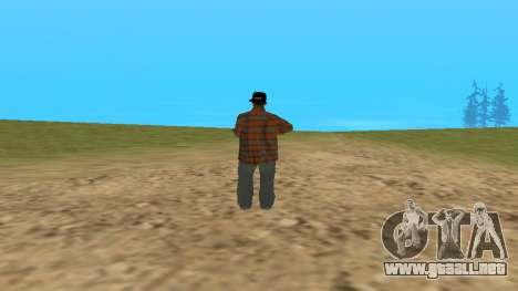 Skin FAM3 para GTA San Andreas segunda pantalla