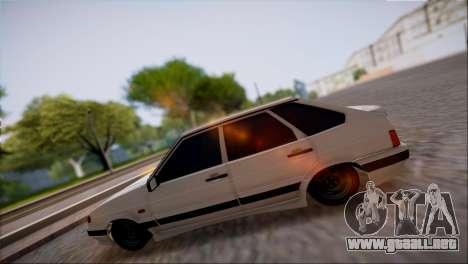 VAZ Lada 2114 para GTA San Andreas left