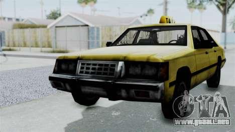 Taxi from GTA Vice City para GTA San Andreas