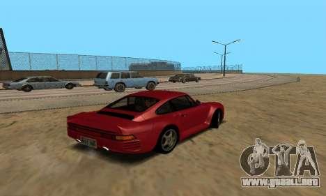 Porsche 959 para GTA San Andreas left