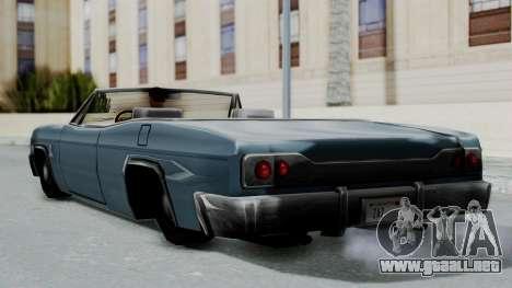 Blade Beach Bug para la visión correcta GTA San Andreas