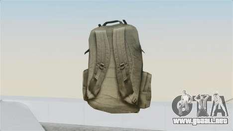 Arma 2 Coyote Backpack para GTA San Andreas segunda pantalla