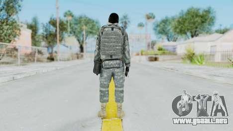 Acu Soldier 6 para GTA San Andreas tercera pantalla