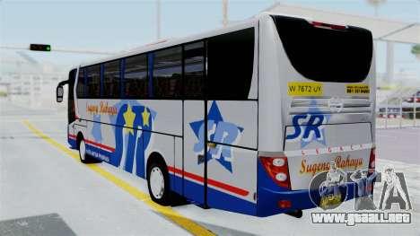 Laksana Legacy Hino AK8 Sugeng Livery para GTA San Andreas left