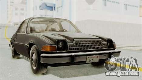 AMC Pacer 1978 para GTA San Andreas
