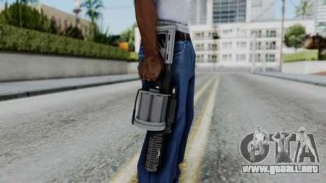 GTA 5 Grenade Launcher - Misterix 4 Weapons para GTA San Andreas tercera pantalla