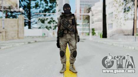Crysis 2 US Soldier 8 Bodygroup B para GTA San Andreas segunda pantalla